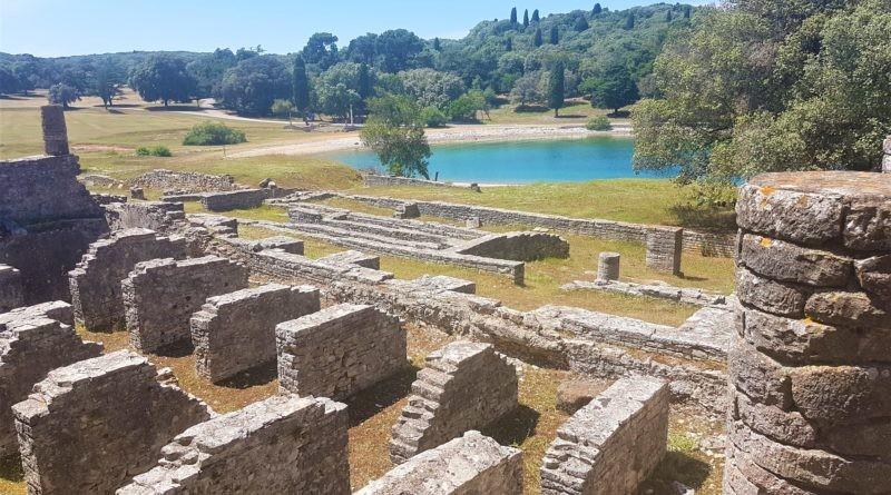 Reste einer römischen Villa