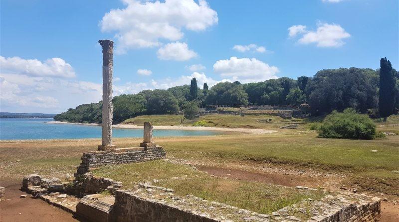 Brijuni römische Säule