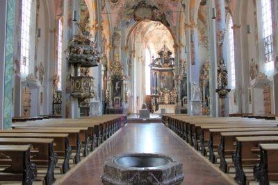 Innenansicht Kirche Sankt Nikolaus