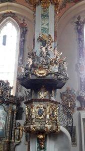 Kirchen Kanzel