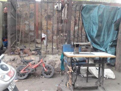 Arbeitsplatz in Delhi