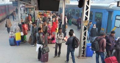 Bahnhof Nizzamuddin Delhi