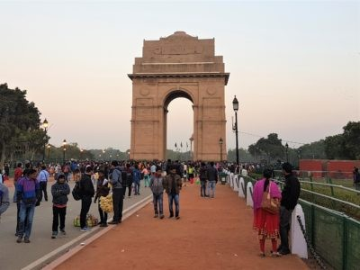 Gate of India in Delhi