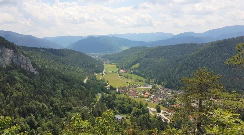 Hausstein Blick Marienthal