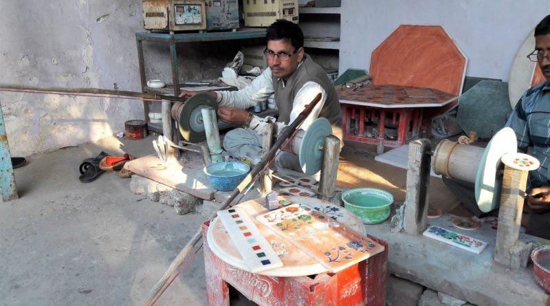 Kunsthandwerk in Agra