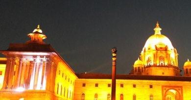 Regierungsgebäude Delhi