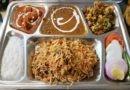 Traditionelles indisches Essen