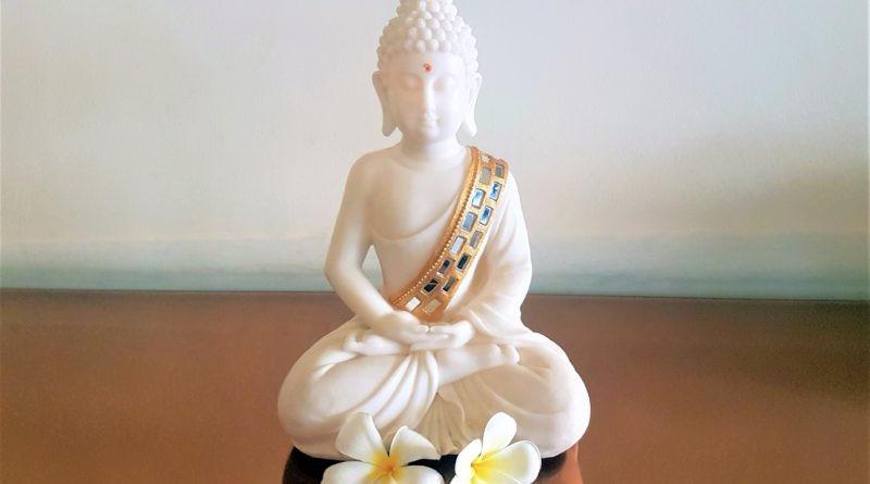 Gesünder leben Buddha